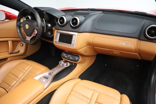 Used 2013 Ferrari California 30 for sale Sold at Maserati of Greenwich in Greenwich CT 06830 24