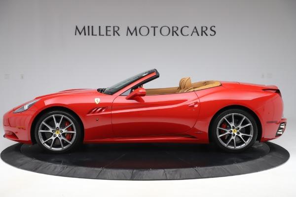 Used 2013 Ferrari California 30 for sale Sold at Maserati of Greenwich in Greenwich CT 06830 3