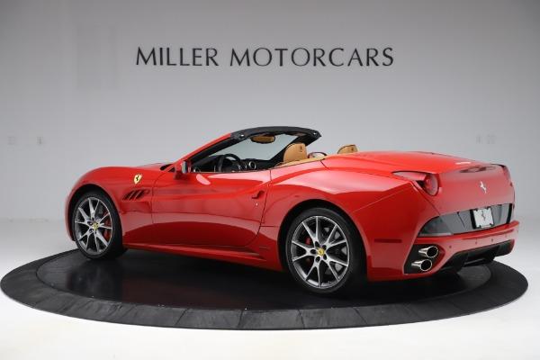 Used 2013 Ferrari California 30 for sale Sold at Maserati of Greenwich in Greenwich CT 06830 4
