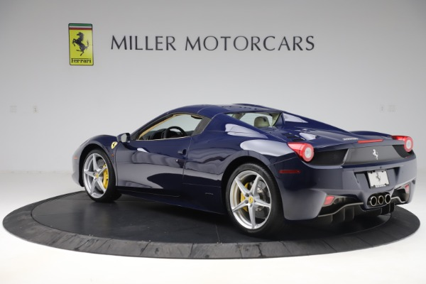 Used 2013 Ferrari 458 Spider for sale Sold at Maserati of Greenwich in Greenwich CT 06830 15