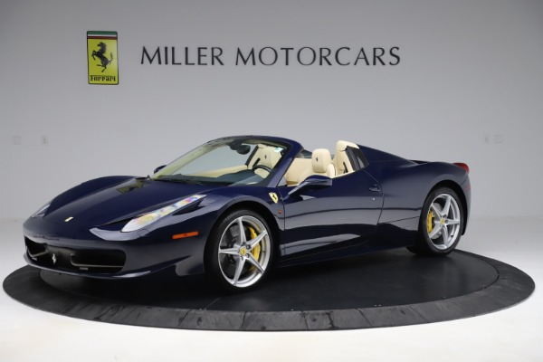 Used 2013 Ferrari 458 Spider for sale Sold at Maserati of Greenwich in Greenwich CT 06830 2