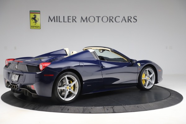 Used 2013 Ferrari 458 Spider for sale Sold at Maserati of Greenwich in Greenwich CT 06830 8