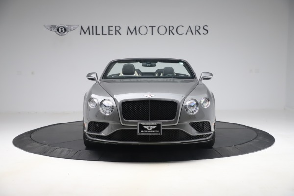 Used 2016 Bentley Continental GTC V8 S for sale Sold at Maserati of Greenwich in Greenwich CT 06830 12