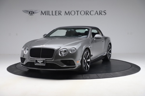 Used 2016 Bentley Continental GTC V8 S for sale Sold at Maserati of Greenwich in Greenwich CT 06830 13