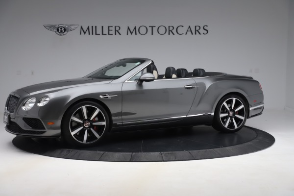 Used 2016 Bentley Continental GTC V8 S for sale Sold at Maserati of Greenwich in Greenwich CT 06830 2