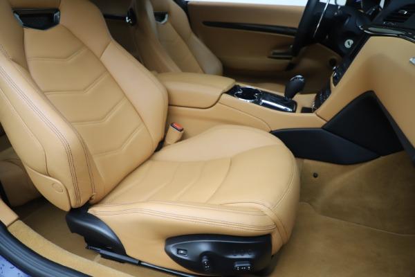 Used 2016 Maserati GranTurismo Sport for sale Sold at Maserati of Greenwich in Greenwich CT 06830 21