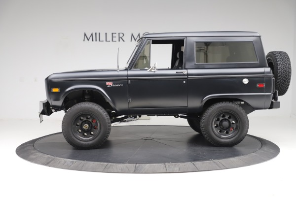 Used 1972 Ford Bronco Icon for sale Sold at Maserati of Greenwich in Greenwich CT 06830 3