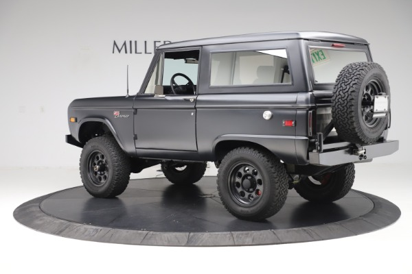 Used 1972 Ford Bronco Icon for sale Sold at Maserati of Greenwich in Greenwich CT 06830 4