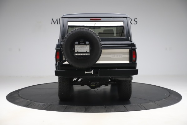 Used 1972 Ford Bronco Icon for sale Sold at Maserati of Greenwich in Greenwich CT 06830 6