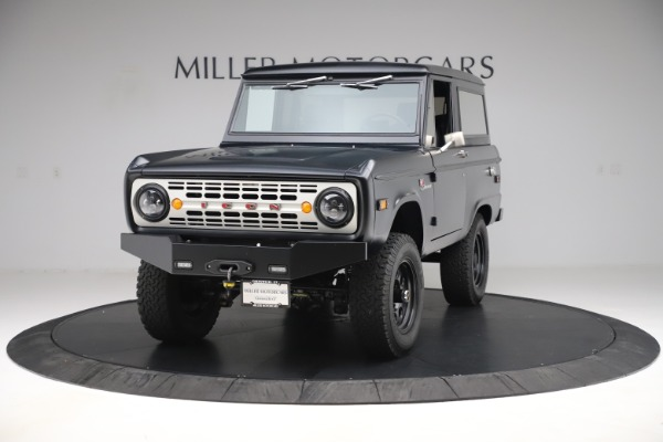 Used 1972 Ford Bronco Icon for sale Sold at Maserati of Greenwich in Greenwich CT 06830 1