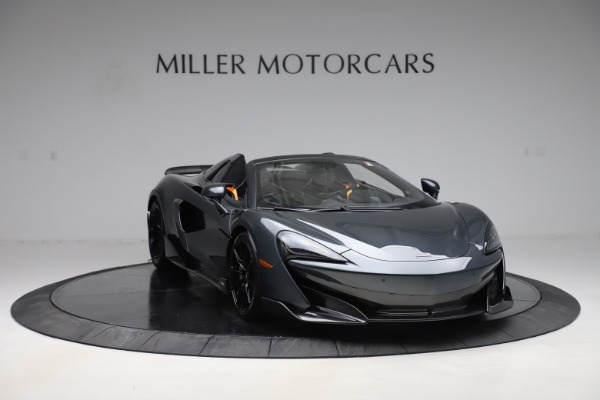 Used 2020 McLaren 600LT SPIDER Convertible for sale $249,900 at Maserati of Greenwich in Greenwich CT 06830 10
