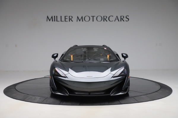 Used 2020 McLaren 600LT SPIDER Convertible for sale $249,900 at Maserati of Greenwich in Greenwich CT 06830 11