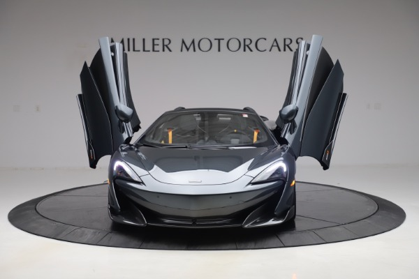 New 2020 McLaren 600LT SPIDER Convertible for sale Sold at Maserati of Greenwich in Greenwich CT 06830 12