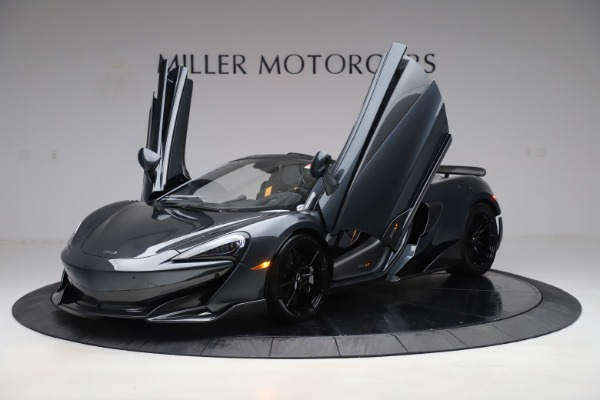 Used 2020 McLaren 600LT SPIDER Convertible for sale $249,900 at Maserati of Greenwich in Greenwich CT 06830 13