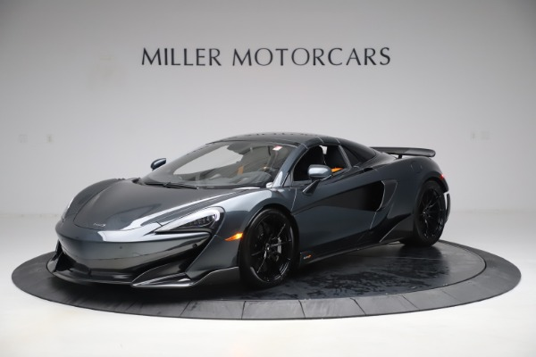 Used 2020 McLaren 600LT SPIDER Convertible for sale $249,900 at Maserati of Greenwich in Greenwich CT 06830 14