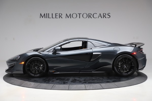 New 2020 McLaren 600LT SPIDER Convertible for sale Sold at Maserati of Greenwich in Greenwich CT 06830 15
