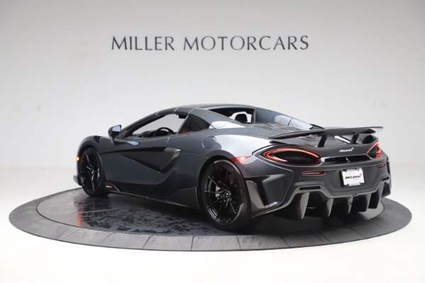 Used 2020 McLaren 600LT SPIDER Convertible for sale $249,900 at Maserati of Greenwich in Greenwich CT 06830 16