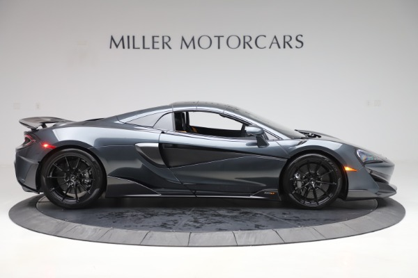 New 2020 McLaren 600LT SPIDER Convertible for sale Sold at Maserati of Greenwich in Greenwich CT 06830 19