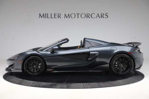 Used 2020 McLaren 600LT SPIDER Convertible for sale $249,900 at Maserati of Greenwich in Greenwich CT 06830 2