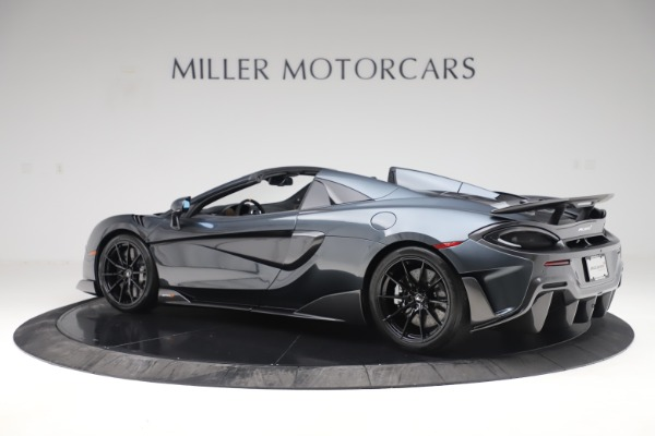 Used 2020 McLaren 600LT SPIDER Convertible for sale $249,900 at Maserati of Greenwich in Greenwich CT 06830 3