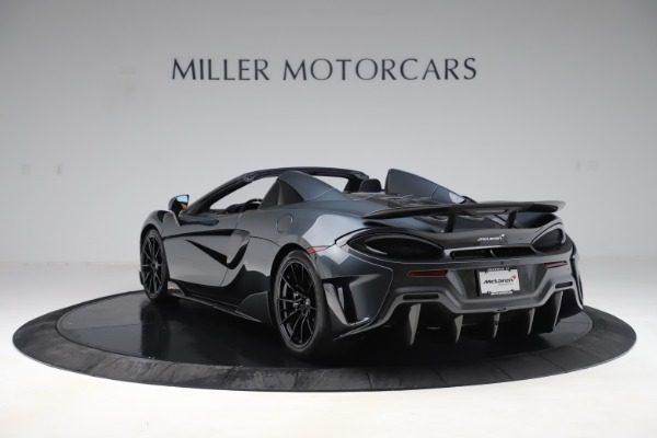 Used 2020 McLaren 600LT SPIDER Convertible for sale $249,900 at Maserati of Greenwich in Greenwich CT 06830 4