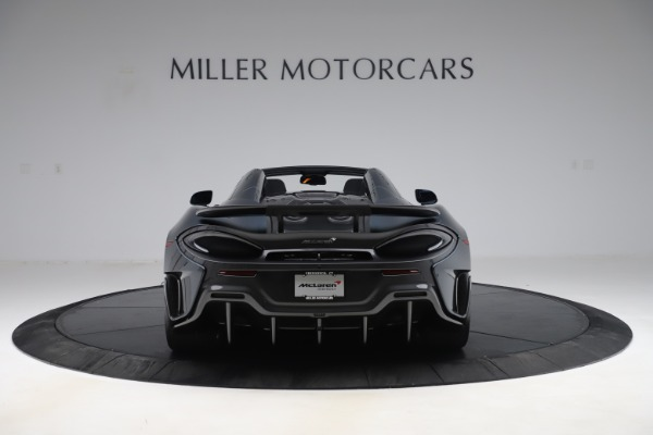 New 2020 McLaren 600LT SPIDER Convertible for sale Sold at Maserati of Greenwich in Greenwich CT 06830 5
