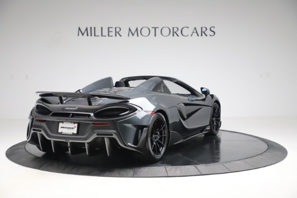 Used 2020 McLaren 600LT SPIDER Convertible for sale $249,900 at Maserati of Greenwich in Greenwich CT 06830 6