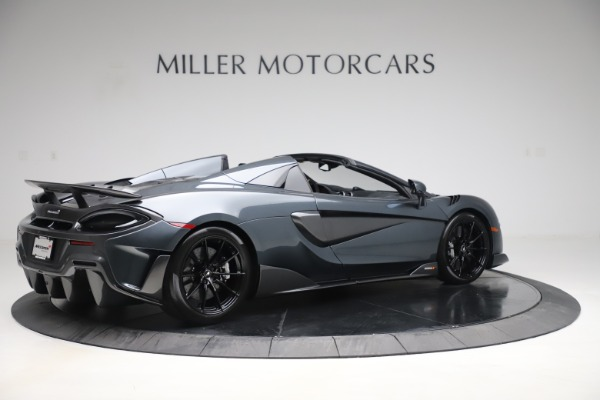 Used 2020 McLaren 600LT SPIDER Convertible for sale $249,900 at Maserati of Greenwich in Greenwich CT 06830 7