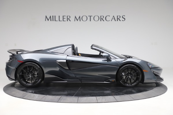 New 2020 McLaren 600LT SPIDER Convertible for sale Sold at Maserati of Greenwich in Greenwich CT 06830 8