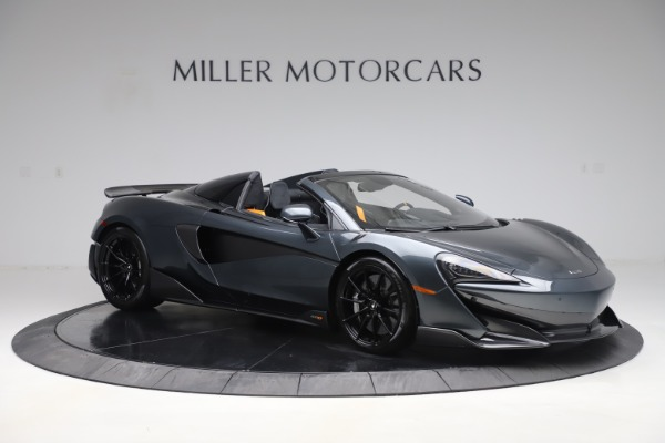 Used 2020 McLaren 600LT SPIDER Convertible for sale $249,900 at Maserati of Greenwich in Greenwich CT 06830 9