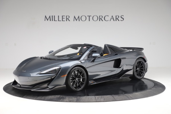 Used 2020 McLaren 600LT SPIDER Convertible for sale $249,900 at Maserati of Greenwich in Greenwich CT 06830 1