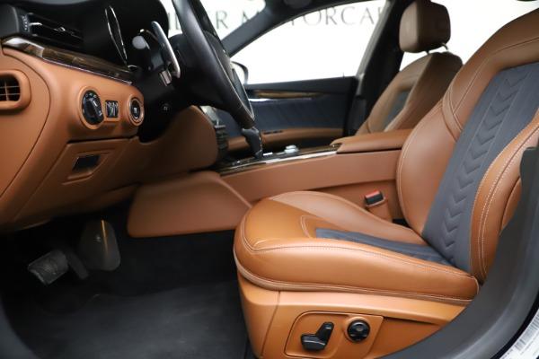 Used 2017 Maserati Quattroporte S Q4 GranLusso for sale Sold at Maserati of Greenwich in Greenwich CT 06830 14