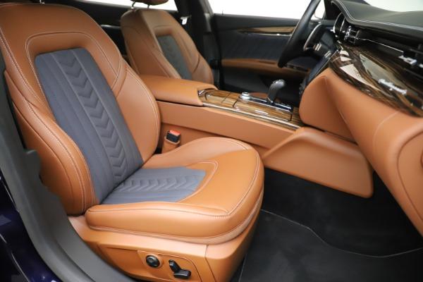 Used 2017 Maserati Quattroporte S Q4 GranLusso for sale Sold at Maserati of Greenwich in Greenwich CT 06830 24