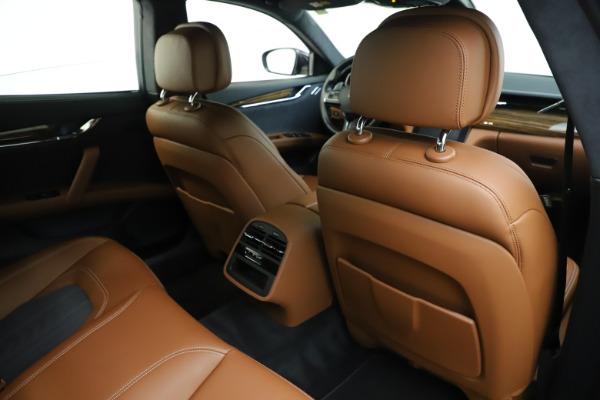 Used 2017 Maserati Quattroporte S Q4 GranLusso for sale Sold at Maserati of Greenwich in Greenwich CT 06830 28