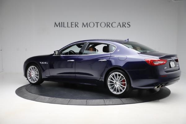 Used 2017 Maserati Quattroporte S Q4 GranLusso for sale Sold at Maserati of Greenwich in Greenwich CT 06830 4