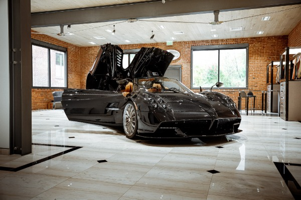 Used 2017 Pagani Huayra Roadster Roadster for sale Call for price at Maserati of Greenwich in Greenwich CT 06830 6