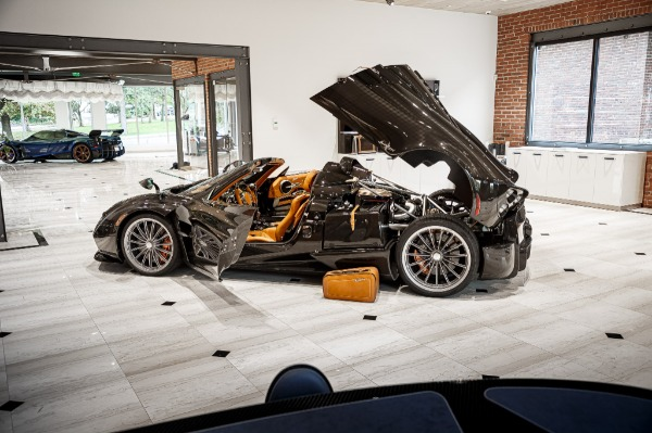 Used 2017 Pagani Huayra Roadster Roadster for sale Call for price at Maserati of Greenwich in Greenwich CT 06830 7