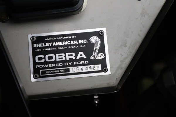 Used 1965 Ford Cobra CSX for sale Sold at Maserati of Greenwich in Greenwich CT 06830 14