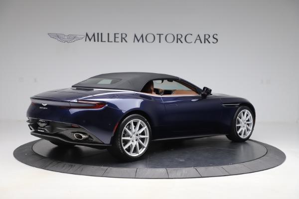 New 2020 Aston Martin DB11 Volante Convertible for sale $242,036 at Maserati of Greenwich in Greenwich CT 06830 19