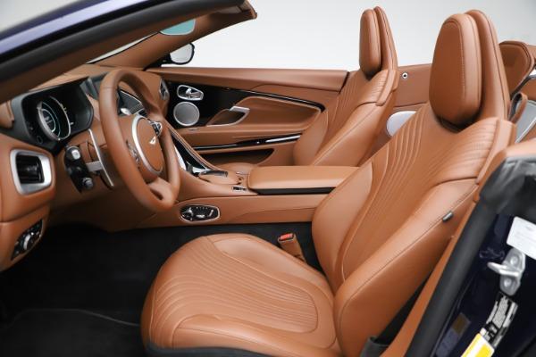 New 2020 Aston Martin DB11 Volante Convertible for sale $242,036 at Maserati of Greenwich in Greenwich CT 06830 21