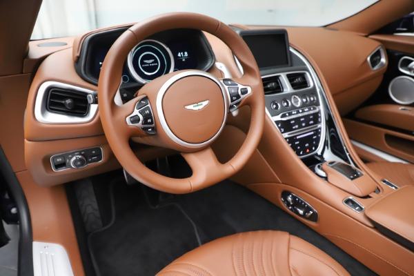 New 2020 Aston Martin DB11 Volante Convertible for sale $242,036 at Maserati of Greenwich in Greenwich CT 06830 22