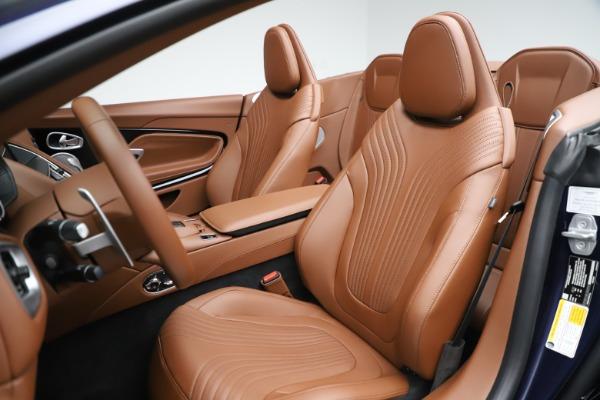 New 2020 Aston Martin DB11 Volante Convertible for sale $242,036 at Maserati of Greenwich in Greenwich CT 06830 23