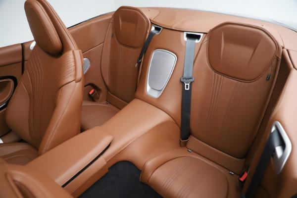 New 2020 Aston Martin DB11 Volante Convertible for sale $242,036 at Maserati of Greenwich in Greenwich CT 06830 24