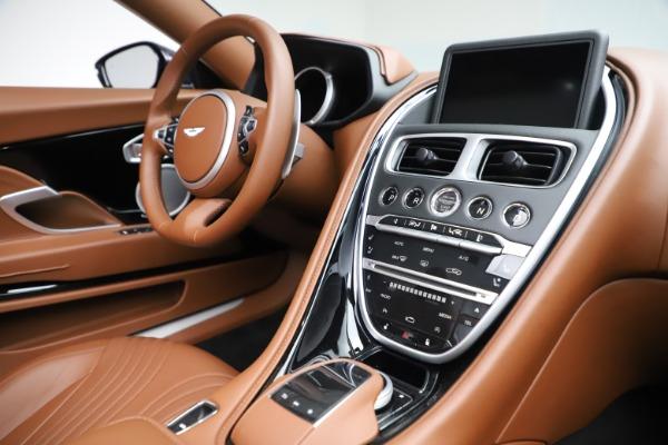New 2020 Aston Martin DB11 Volante Convertible for sale $242,036 at Maserati of Greenwich in Greenwich CT 06830 25