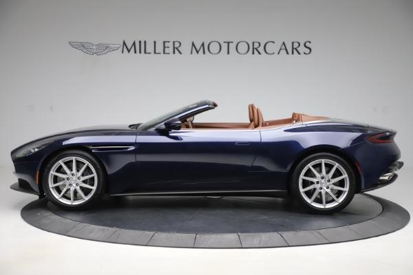 New 2020 Aston Martin DB11 Volante Convertible for sale $242,036 at Maserati of Greenwich in Greenwich CT 06830 3