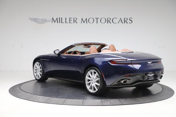 New 2020 Aston Martin DB11 Volante Convertible for sale $242,036 at Maserati of Greenwich in Greenwich CT 06830 4