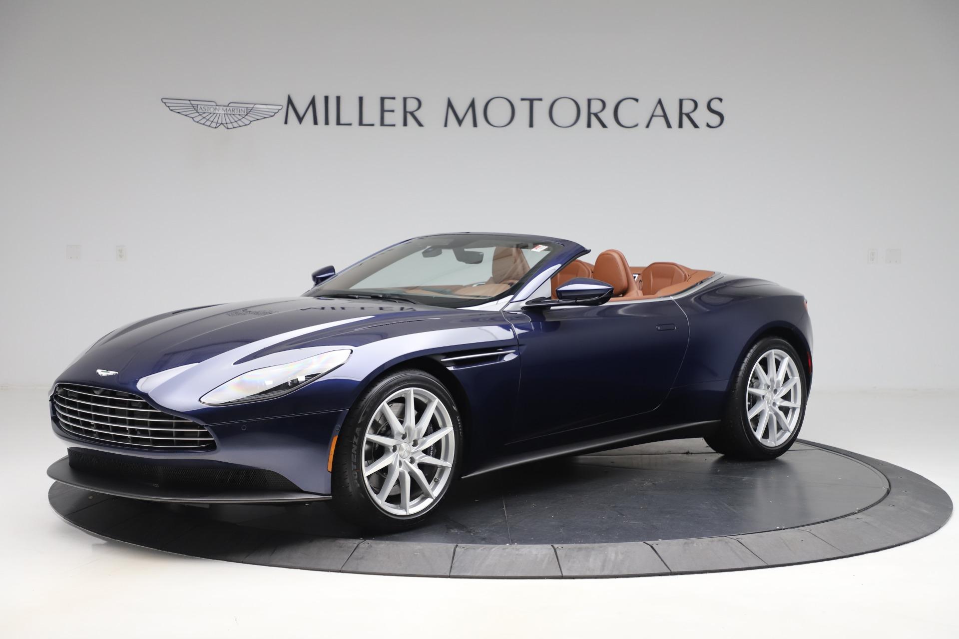 New 2020 Aston Martin DB11 Volante Convertible for sale $242,036 at Maserati of Greenwich in Greenwich CT 06830 1