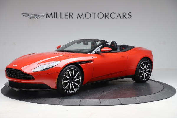 New 2020 Aston Martin DB11 Volante Convertible for sale Sold at Maserati of Greenwich in Greenwich CT 06830 1