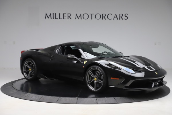Used 2015 Ferrari 458 Speciale Aperta for sale $635,900 at Maserati of Greenwich in Greenwich CT 06830 18