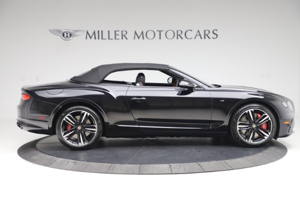 New 2020 Bentley Continental GTC V8 for sale $271,550 at Maserati of Greenwich in Greenwich CT 06830 17